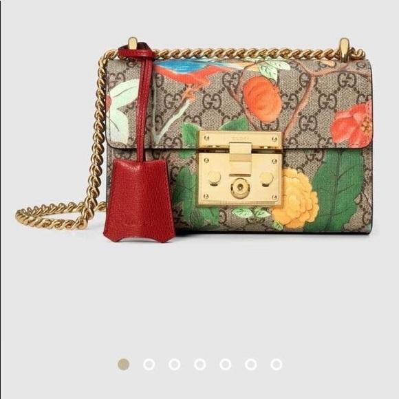 dde5d72d1 Gucci Bags | Padlock Small Tian Shoulder Bag | Poshmark